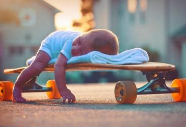 Опасно ли ребенку начинать кататься на скейтборде?