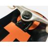 """Скейтборд Юнион Team чёрно-оранжевая (black/orange) 32,5""""X8,5"""" (82.55 X 21.59 см) high"""