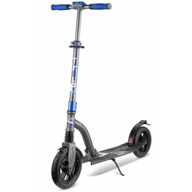 Городской самокат Trolo Quantum Air на больших колёсах 230 мм grafite для подростков и взрослых