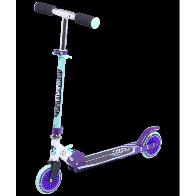 Городской самокат Ridex Rapid 2.0 125 мм мятный/фиолетовый для детей