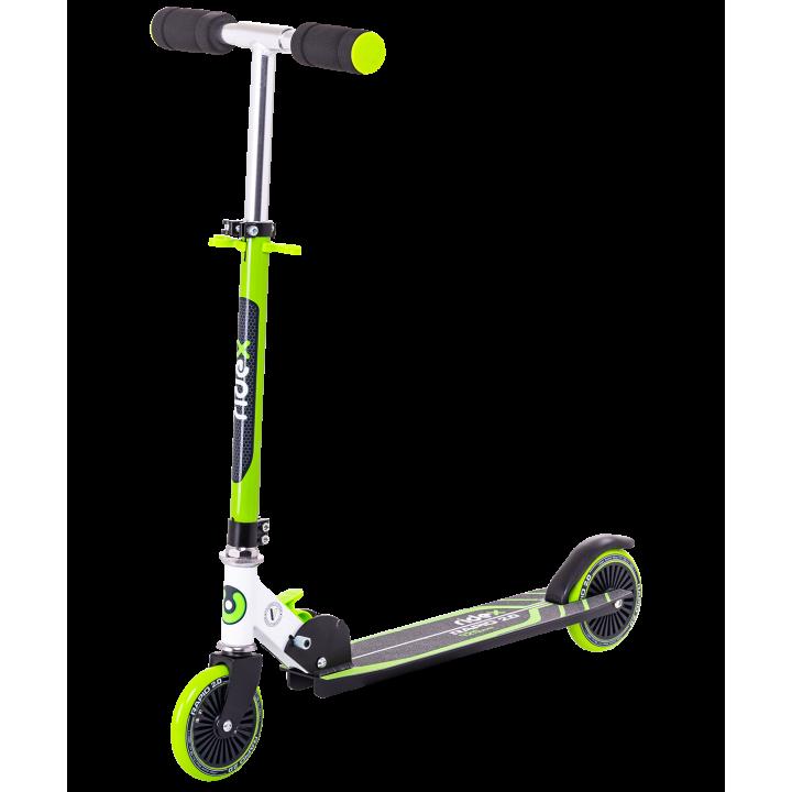 Городской самокат Ridex Rapid 2.0 125 мм зеленый для детей