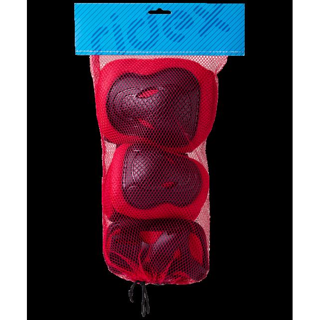 Комплект защиты Ridex Robin красный M