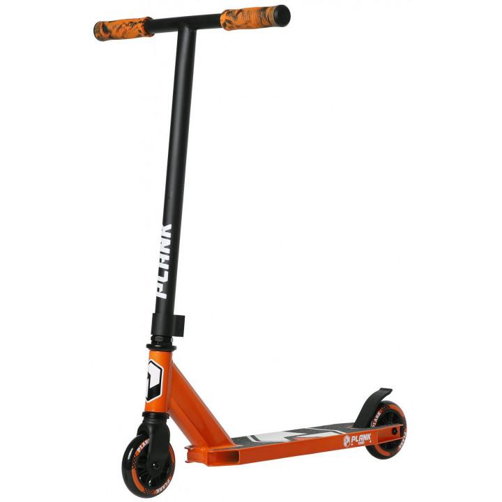 Трюковой самокат Plank Scout оранжевый