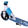 Городской самокат Plank Rio 145 бело-синий для детей и подростков