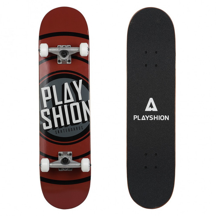 Скейтборд Playshion Gun 31.82′′X7.87′′ (80,8 X 20 см) коричневый