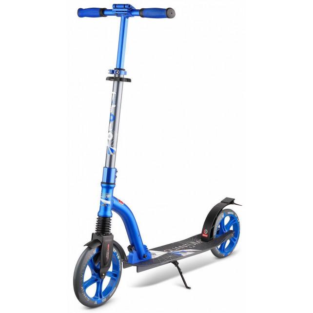 Городской самокат Trolo Quantum на больших колёсах 230 мм light/blue для подростков и взрослых