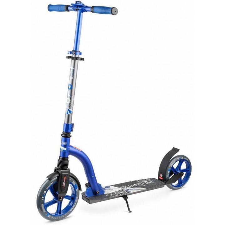 Городской самокат Trolo Quantum 2 на больших колёсах 230 мм blue/graphit для подростков и взрослых