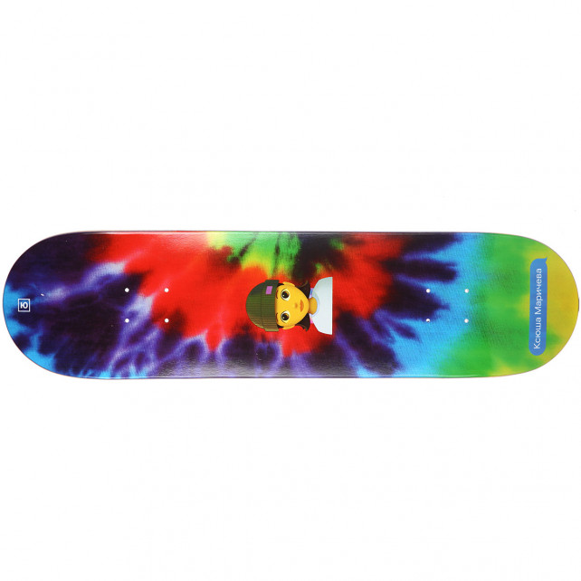 Дека для скейтборда Юнион Маричева (Maricheva) 31,5′′X8′′ (80 X 20.32 см) medium (+ шкурка)