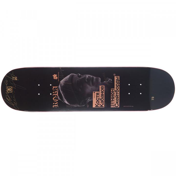 Дека для скейтборда Юнион Кабанов (Kabanov) 31,75′′X8,125′′ (80.64 X 20.64 см) medium (+ шкурка)