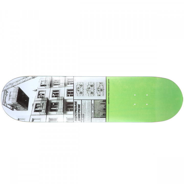 "Дека для скейтборда Юнион Хрущёвка (Khrushchevka) 32""X8"" (81.28 X 20.32 см) medium (+ шкурка)"