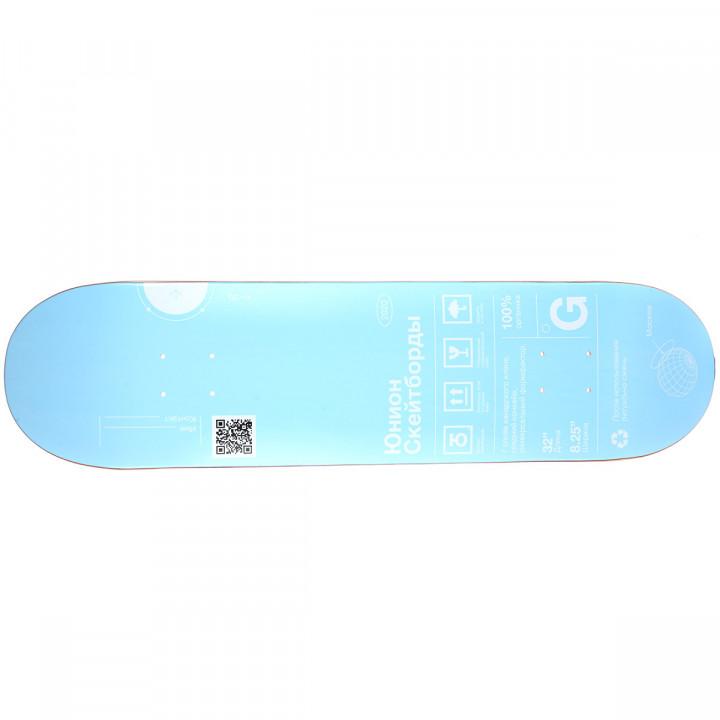 "Дека для скейтборда Юнион Органик (Organic) 31,875""X8,125"" (80.96 X 20.64 см) medium (+ шкурка)"