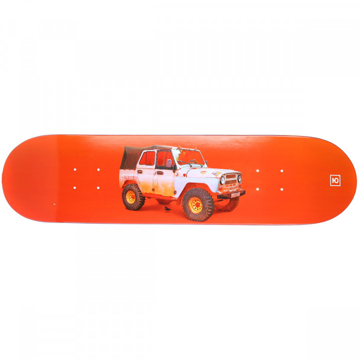 "Дека для скейтборда Юнион Бобик (Bobik) 32""X8"" (81.28 X 20.32 см) medium (+ шкурка)"