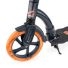 Городской самокат Trolo Raptor на больших колёсах 230 мм orange/graphite для подростков и взрослых