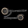 Городской самокат TechTeam TT Huracan 2020 230 мм Black/Brown