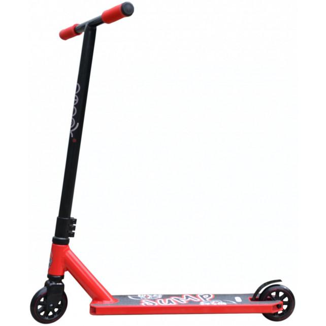 Трюковой самокат Ateox Jump 2020 красный/чёрный для подростков