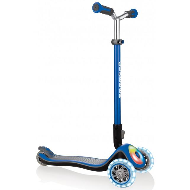 Трёхколёсный самокат Globber ELITE PRIME синий