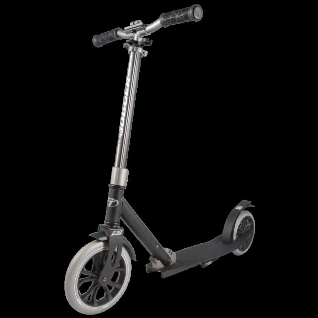 Городской самокат TechTeam TT Jogger 2019 230 мм Black/Silver