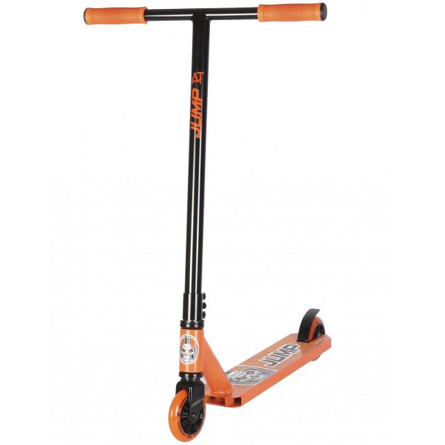Трюковой самокат AT Jump черный/оранжевый