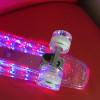 """Пенни Борд Fish Light 22"""" (56,5 см) кристальный со светящимися колёсами и декой"""