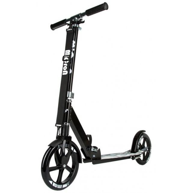 Городской самокат HelloWood (Hello Wood) Micron XL-1 на больших колёсах 230 мм graphite для взрослых и подростков