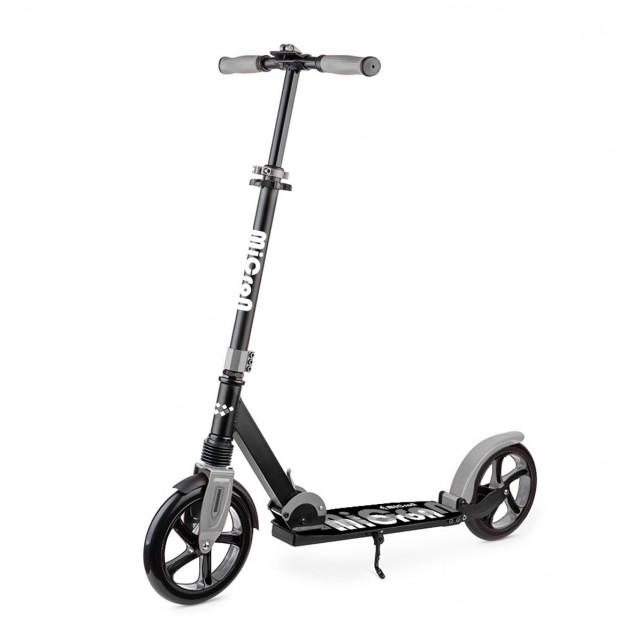 Городской самокат HelloWood (Hello Wood) Micron XL-3 на больших колёсах 230 мм graphite для взрослых и подростков