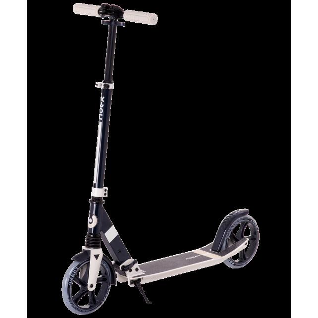 Городской самокат Ridex Adept на больших колёсах 200 мм бежевый для подростков и взрослых