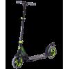 Городской самокат Ridex Apollo на больших колёсах 200 мм зеленый для подростков и взрослых
