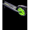 Городской самокат Ridex Echo 2.0 на больших колёсах 180 мм зелёный для подростков и взрослых