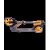 Городской самокат Ridex Echo 2.0 на больших колёсах 180 мм оранжевый для подростков и взрослых