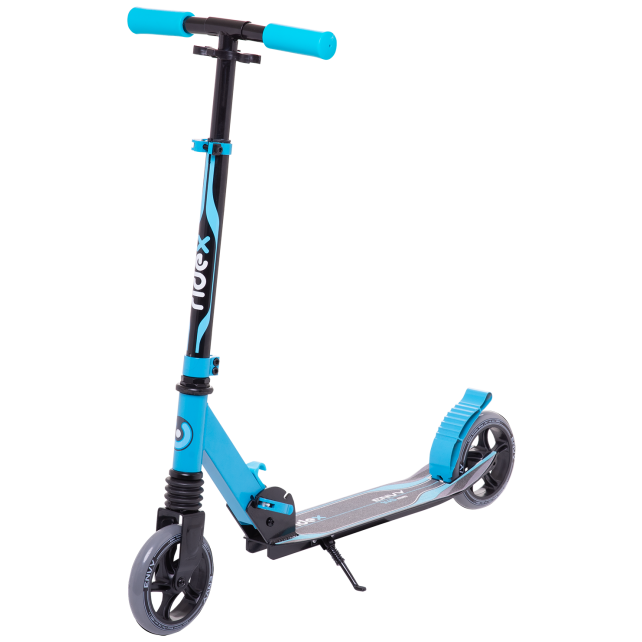 Городской самокат Ridex Envy на больших колёсах 145 мм синий для детей и подростков