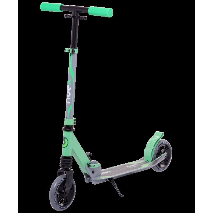 Городской самокат Ridex Envy на больших колёсах 145 мм зелёный для детей и подростков