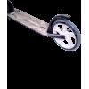 Городской самокат Ridex Marvel 2.0 на больших колёсах 200 мм серый для подростков и взрослых