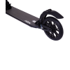Городской самокат Ridex Project на больших колёсах 200 мм чёрный для подростков и взрослых