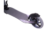 Городской самокат Ridex Pulse на больших колёсах 200 мм серый для подростков и взрослых