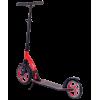 Городской самокат Ridex Shift на больших колёсах 230 мм красный для подростков и взрослых