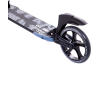 Городской самокат Ridex Unit на больших колёсах 230 мм серый для подростков и взрослых