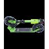 Городской самокат Ridex Atom на больших колёсах 180 мм зелёный для подростков и взрослых