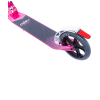 Городской самокат Ridex Atom на больших колёсах 180 мм белый/розовый для подростков и взрослых
