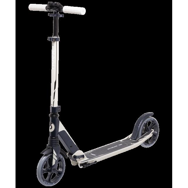 Городской самокат Ridex Stream на больших колёсах 180 мм бежевый для подростков и взрослых