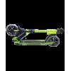 Городской самокат Ridex Stream на больших колёсах 180 мм зелёный для подростков и взрослых