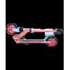 Городской самокат Ridex Vector на больших колёсах 145 мм коралловый для детей и подростков