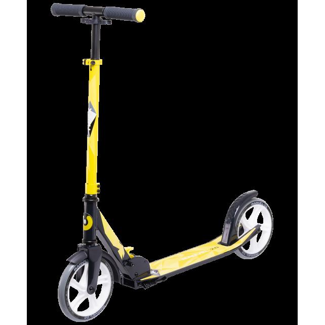 Городской самокат Ridex Marvel 2.0 на больших колёсах 200 мм жёлтый для подростков и взрослых
