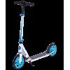 Городской самокат Ridex Syndicate на больших колёсах 200 мм синий/белый для взрослых и подростков