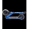 Городской самокат Ridex Syrex на больших колёсах 230 мм синий для подростков и взрослых