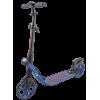 Городской самокат TechTeam Concept на больших колёсах 210 мм синий для взрослых и подростков