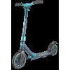 Городской самокат TechTeam Jogger на больших колёсах 210 мм бирюзовый для взрослых и подростков