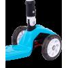 Трёхколёсный самокат Ridex Smart 3D детский синий складной со светящимися колёсами