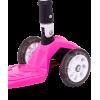 Трёхколёсный самокат Ridex Smart 3D детский розовый складной со светящимися колёсами