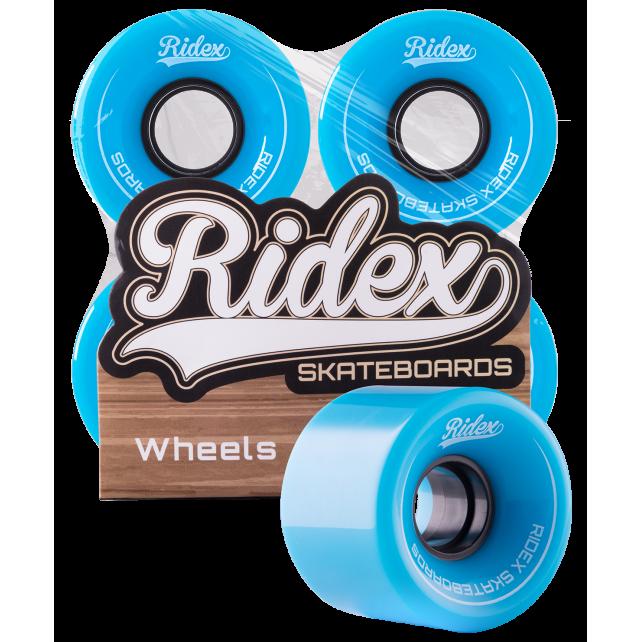 Комплект колес для круизера Ridex SB, голубой, 4 шт., 60 мм