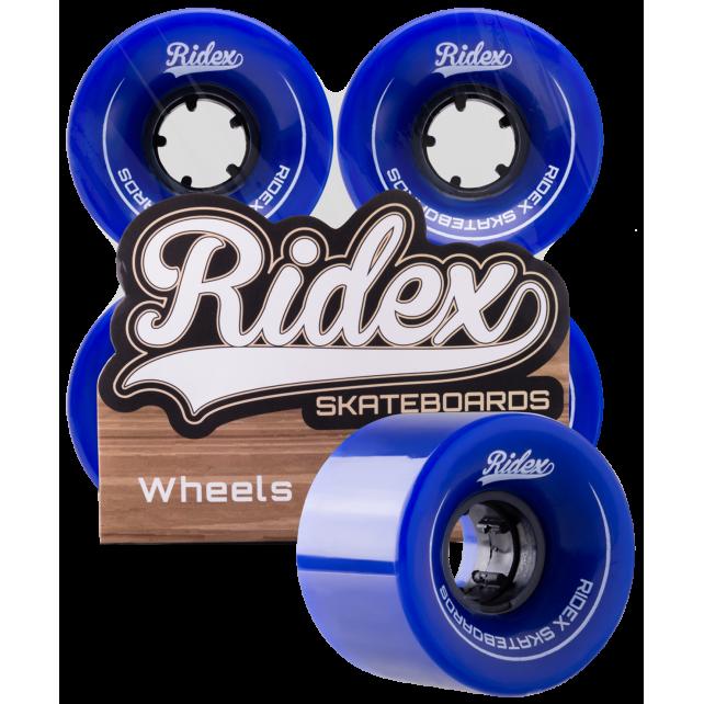 Комплект колес для круизера Ridex SB, темно-синий, 4 шт., 60 мм
